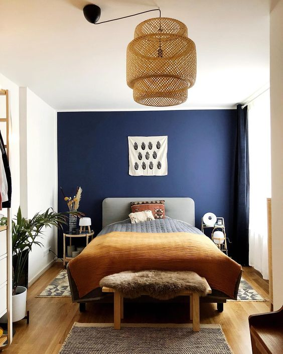 2. Rattan and Ochre Tone Support the Navy