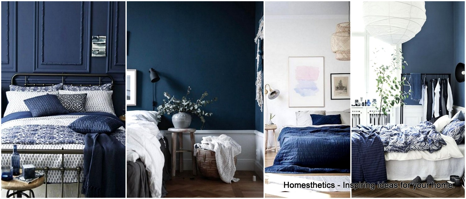 33 Epic Navy Blue Bedroom Design Ideas
