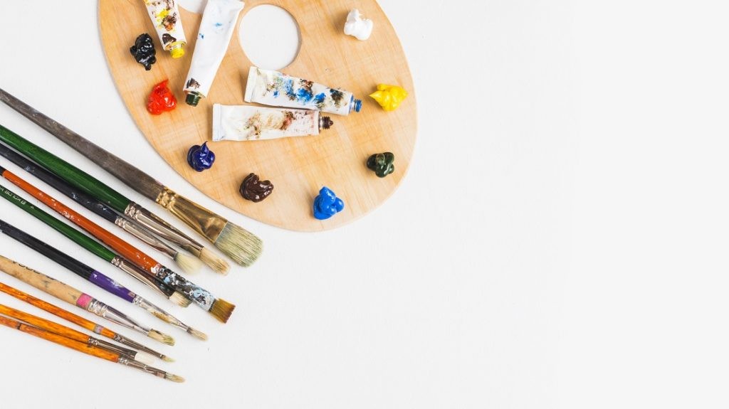 How to Clean Dried Acrylic Paint Off Brushes 1