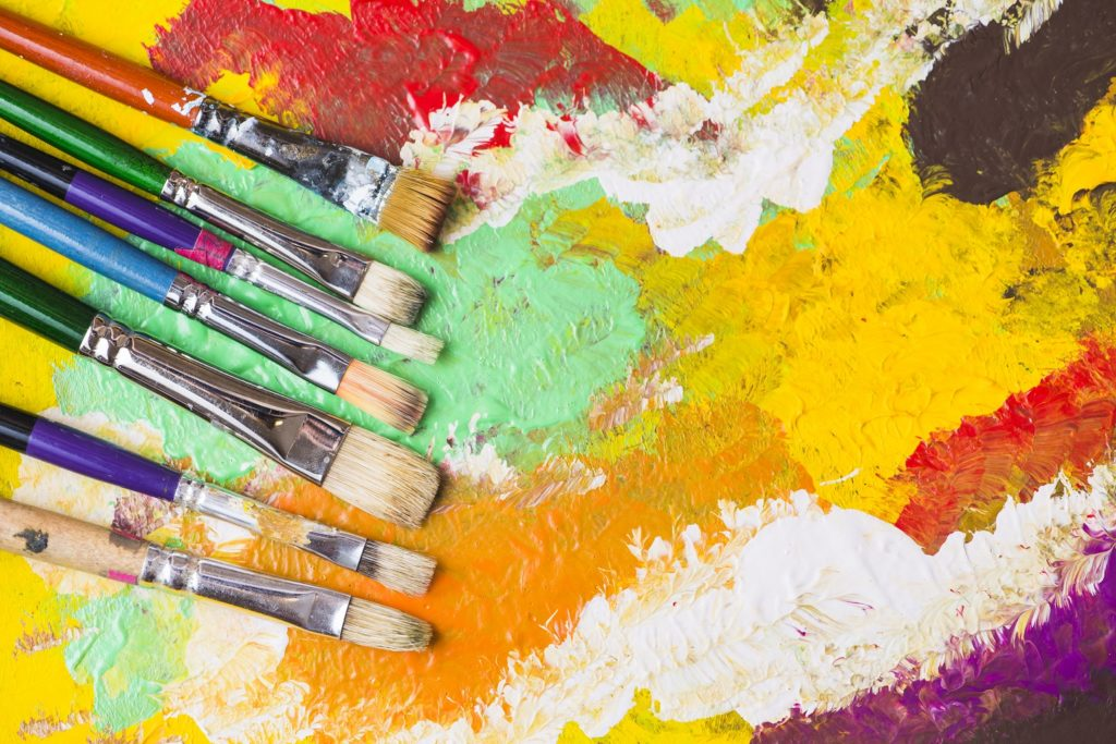 How to Clean Dried Acrylic Paint Off Brushes 2