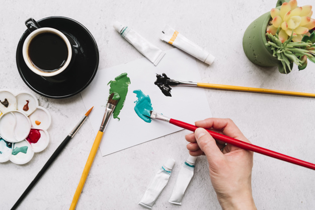 How to Thin Your Acrylic Paint Correctly