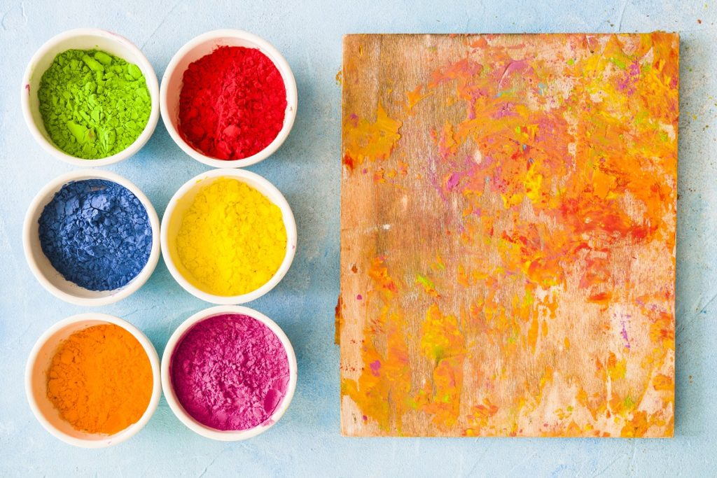 making acrylic paint at home 1