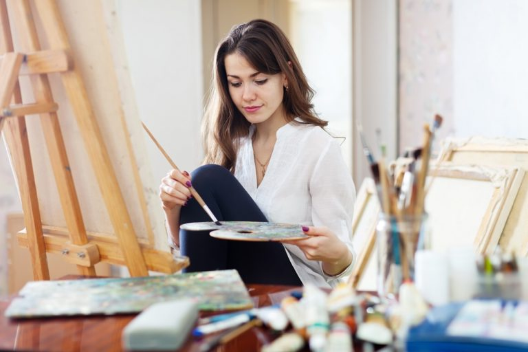painting supplies for acrylic painting