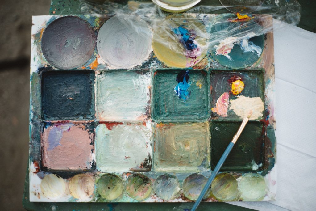 Best Palettes for Oils Painting