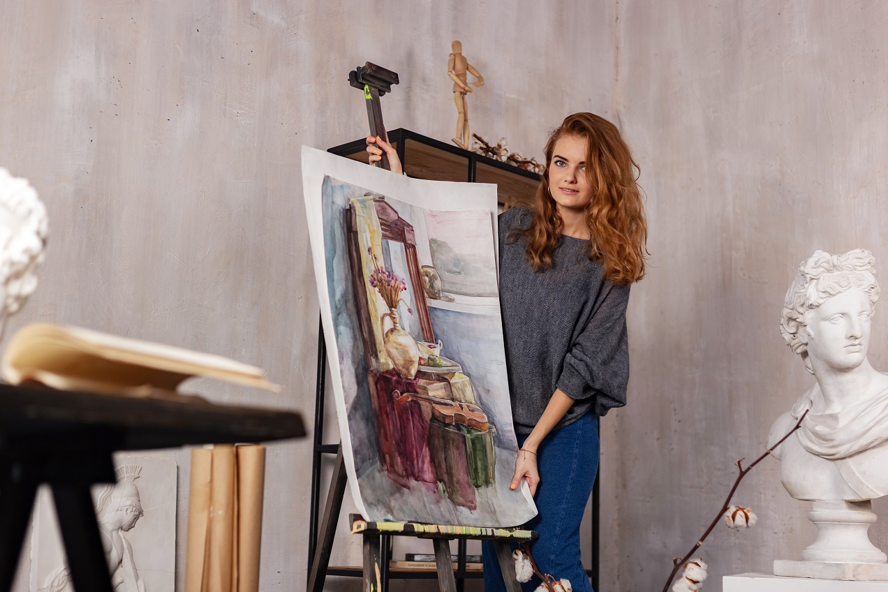 Learn How To Dry Oil Paint Faster Overnight Homesthetics
