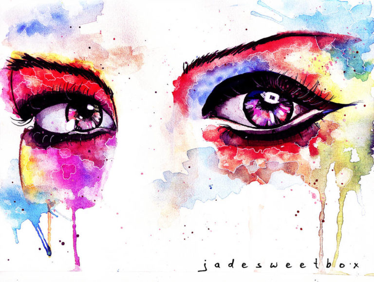 eye study watercolor ii by jadesweetboxx d63g9i7 pre