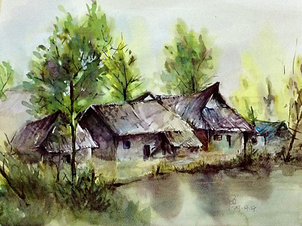 scenery watercolor by young920 d6fa0rm fullview