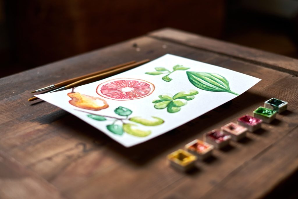 watercolor paper and painting 9