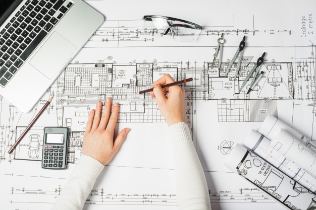 hands drawing architect 23 2147710937