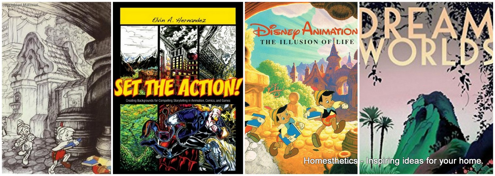 Best Layout and Background Painting Books for Animation