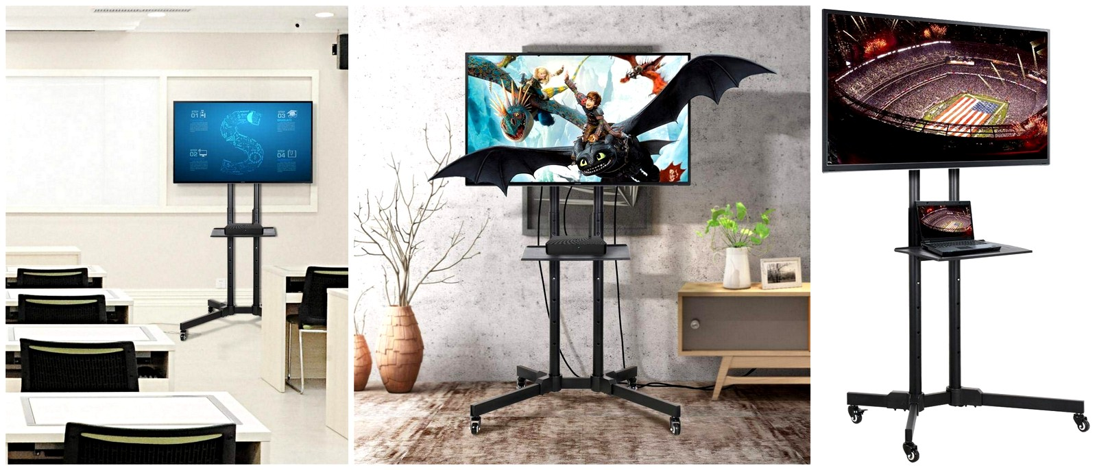 Best Rolling TV Stands