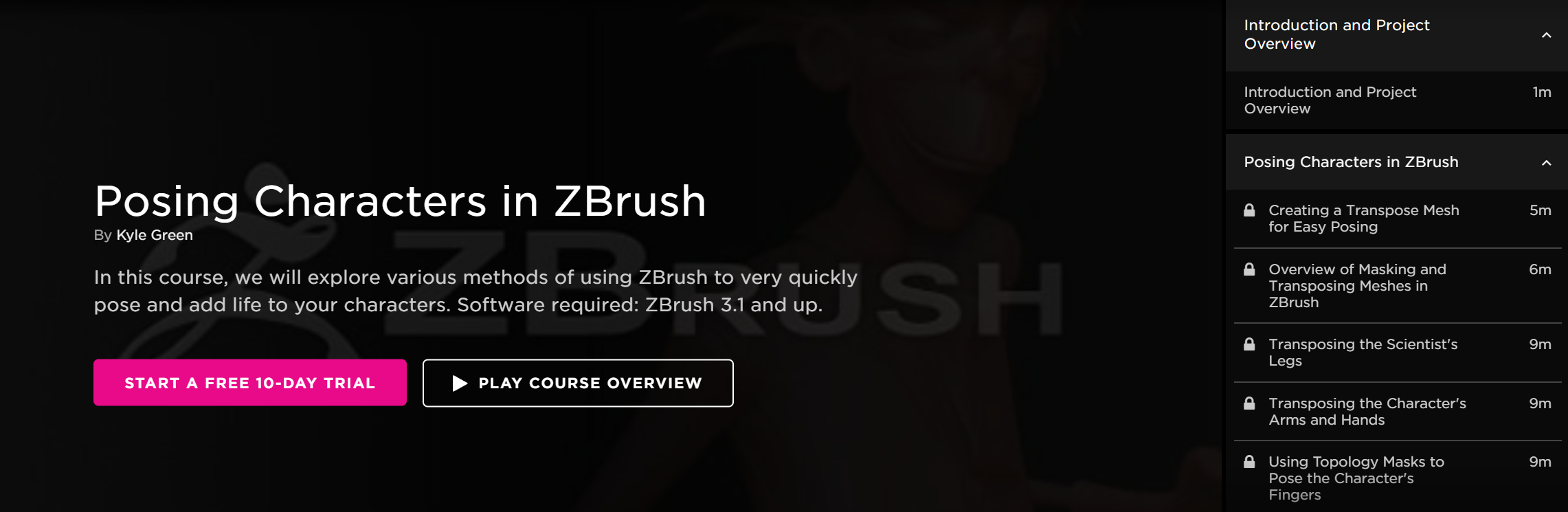 25 Best ZBrush Tutorials & Courses for Legendary Graphics