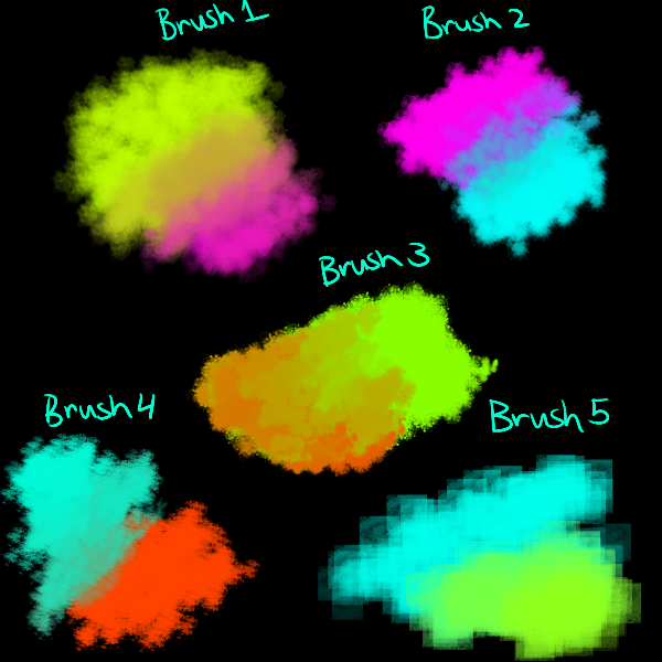 Alternative Firealpaca Brush Pack by Candydesufox