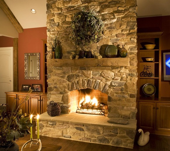 fireplaces eldorado stone intended for fire place designs 14