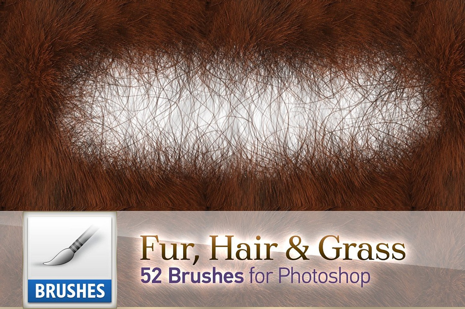 38. Fur, Hair & Grass Brushes
