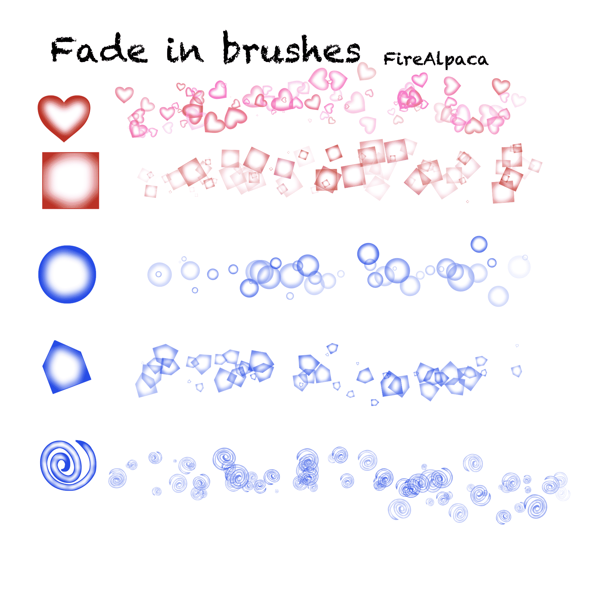 29. Fade In Brushes
