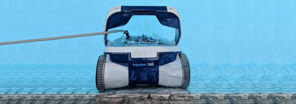 Aquabot X4 Robotic Pool Cleaner Review   Buyer's Guide