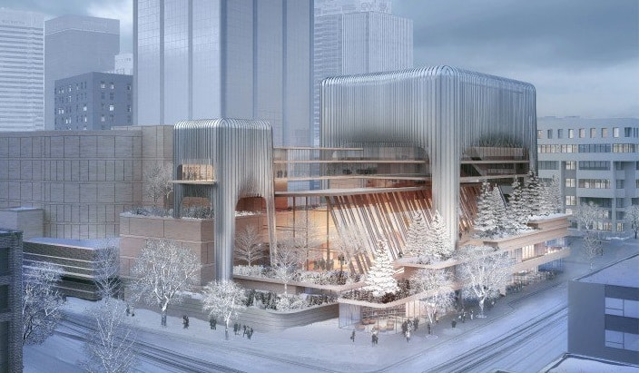 Winspear Completion Project Arts Concert Hall 1
