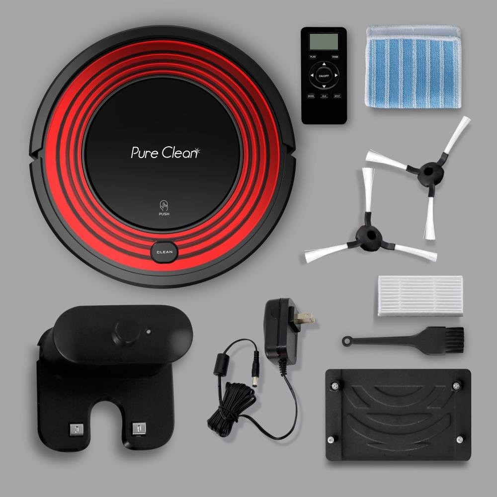 PureClean PUCRC95 Automatic Robot Vacuum Cleaner Reviews