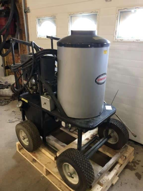 Best Small Hot Water Pressure Washer 1