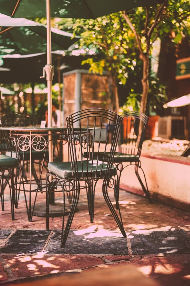 Best Small Patio Tables With Umbrella Hole 1