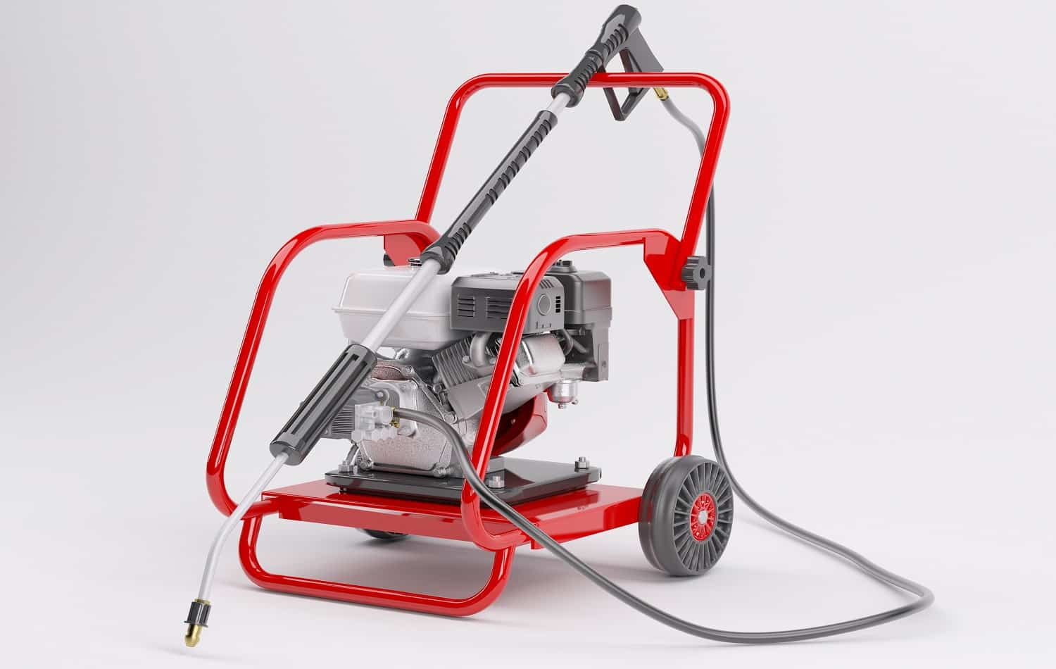 3d render of a pressure washer