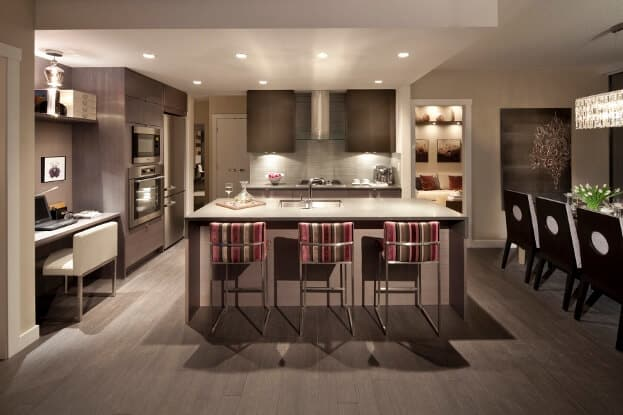 Kitchen Space For Guests