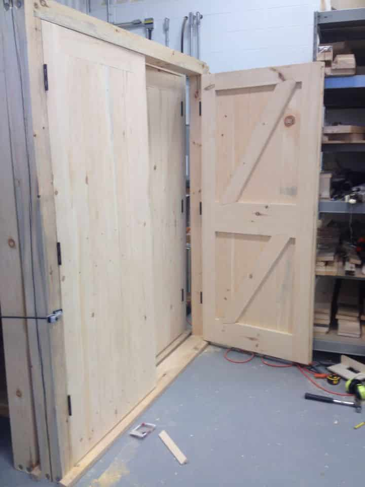 Battened and Ledged Doors 1