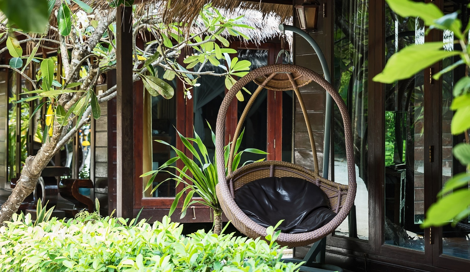 Rattan chair rattan hanging house terrace Styles and concepts of furniture that are environmentally friendly
