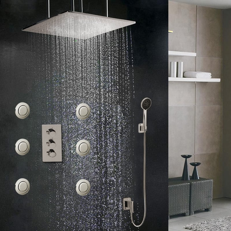 Best Shower Systems With Body Jets