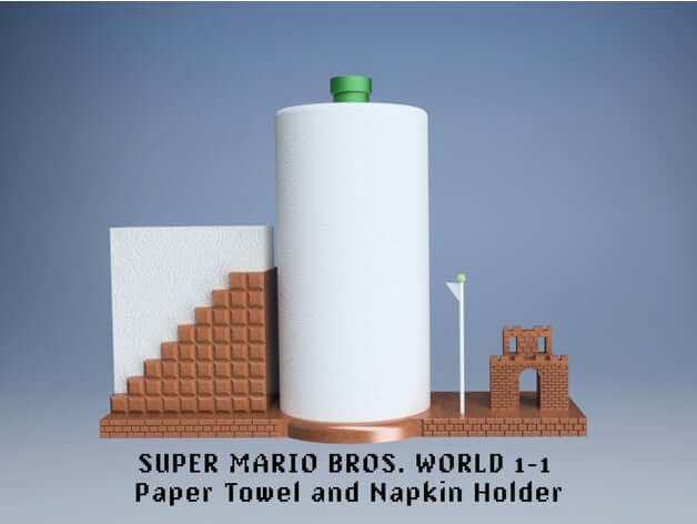 Paper Towel Holder by SpaceMonkey42