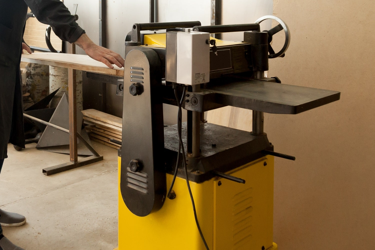 Benchtop Jointer for Woodworking 1