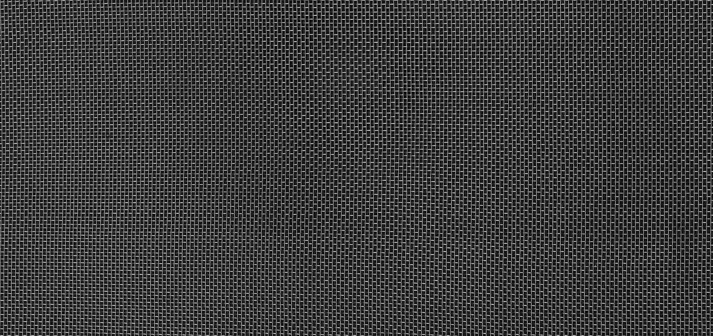 Metal grid texture isolated on black. Horizontal banner background.