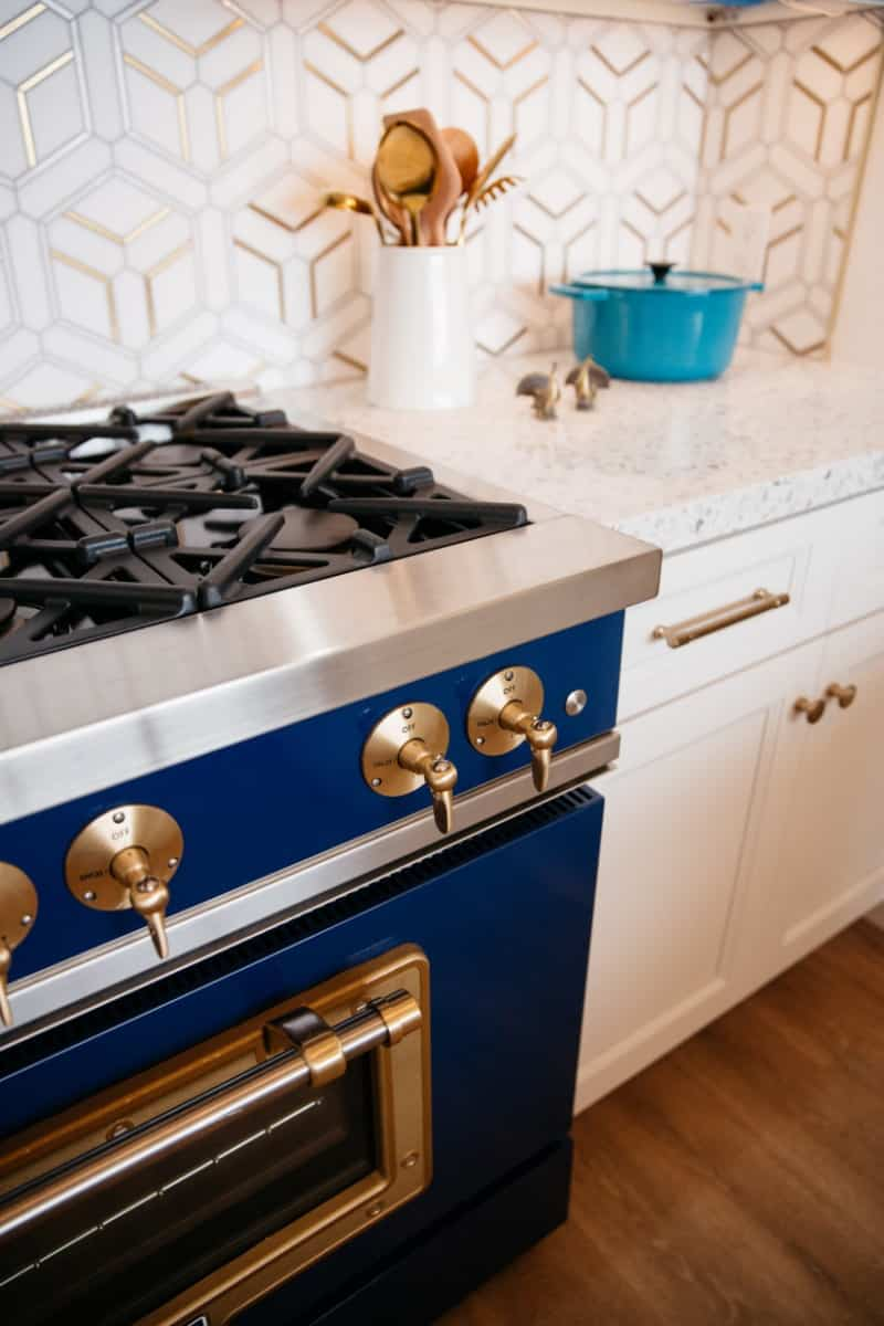 04 Big Chill Appliances in the Color Cobalt Blue