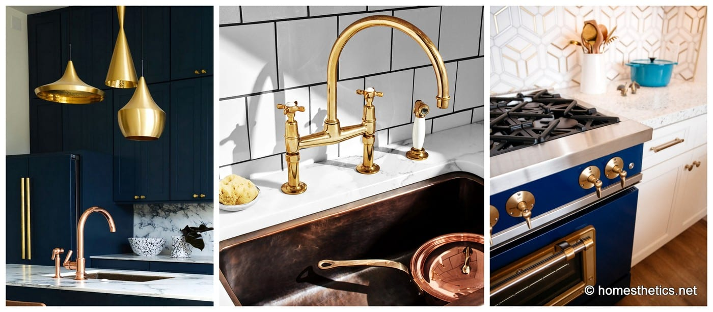 Top Ways To Jazz Up Your Kitchen With Brass