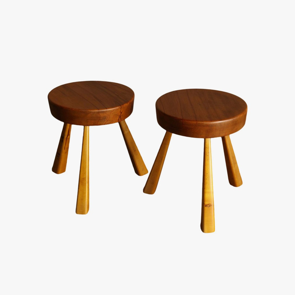 Charlotte Perriand's Tables And Stools